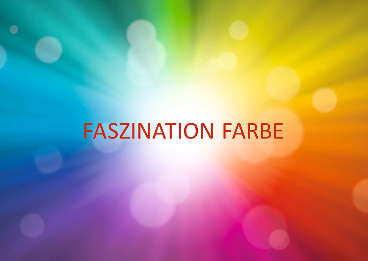 Leise Faszination Farbe Carl-Bosch-Museum